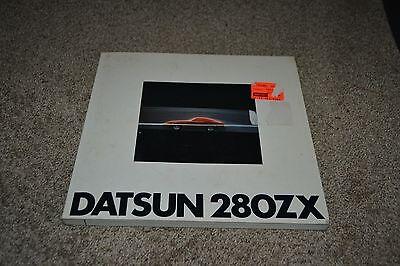 Datsun 280ZX softcover book from Nissan 1978 development history design info