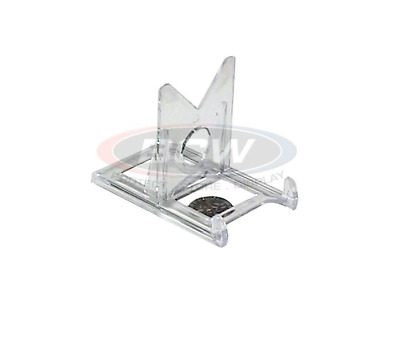 (6 Pack) BCW 2-Piece Clear Adjustable Card Stands - Put Your Cards On Display!