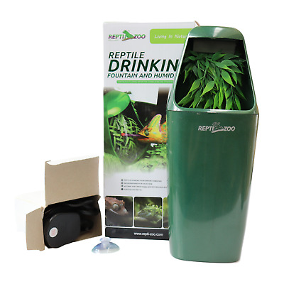 Reptile Drinking Fountain and Humidifier