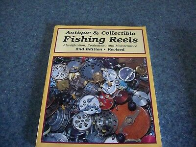 collectors book Fishing Reels 2nd edition antiques  Jellison & Homel