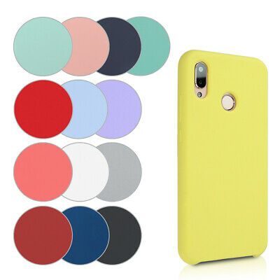 Silicone Case for Huawei P20 Lite - TPU Rubberized Cover