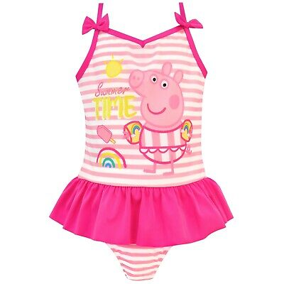 Peppa Pig Swimsuit | Girls Peppa Pig Swimming Costume | Peppa Pig Swim Suit |NEW