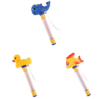 3Pcs Swimming Pool Spa Floating Thermometer Tub 50℃ 120 ℉ Temperature