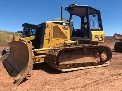 2011 Caterpillar D4K2 LGP Crawler Dozer 6 Way Blade Diesel Cat Bulldozer D4