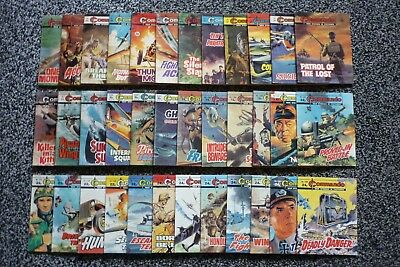 36 Commando Comics.Nos 833/1993.Job Lot