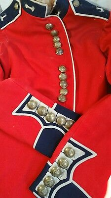 Beautiful And 100% Original Period Welsh Guards Other Ranks Tunic-Smal Size-Nice