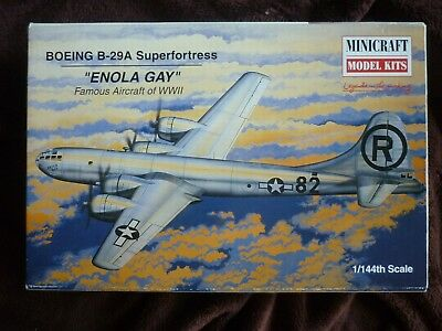 "Minicraft 1:144 Boeing B-29 Super Fortress ""Enola Gay"""