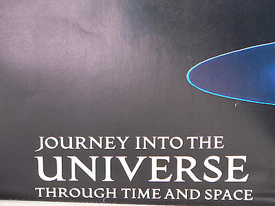 1983 National Geographic Poster: Journey Into the Universe (d)