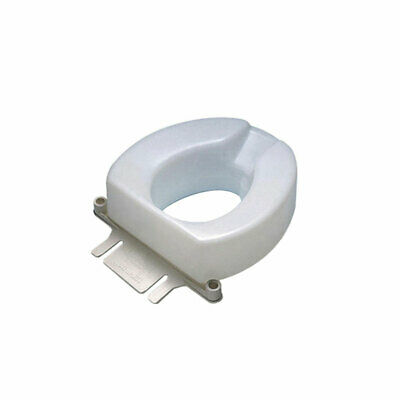 Ableware 725831004 Contoured Tall-Ette Elevated Toilet Seat Elongated