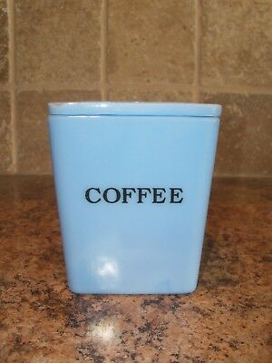 Jeannette Delphite Blue 29oz COFFEE Canister