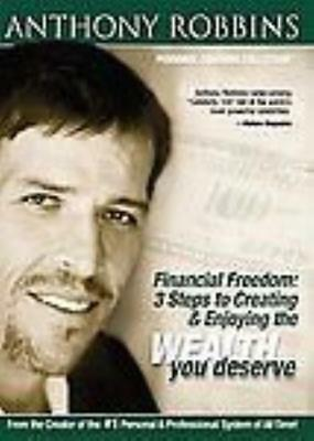 Anthony Robbins: Financial Freedom: 3 Steps To Creating 2-Disc Set DVD VIDEO
