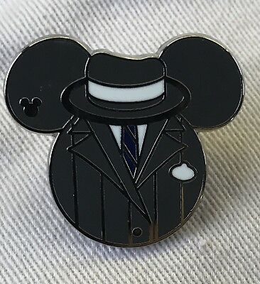 GANGSTER COMPLETER Great Movie Ride 2015 Hidden Mickey Cast Costume Disney Pin