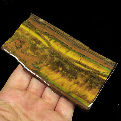 622.4CT 100% Natural African Yellow Blue Tigereye Facet Rough Specimen YHY2119