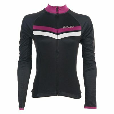 Bellwether Momentum Women's Long Sleeve Road Cycling Jersey Black Medium