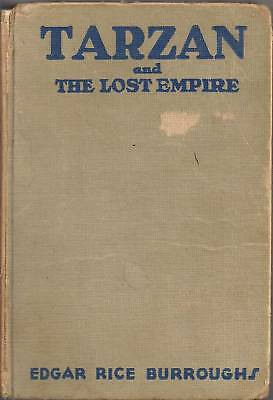 Tarzan and the lost empire published by Edgar rice burroughs inc