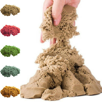 Dynamic Sand Kinetic Magic Clay Amazing Indoor Play Color Fun Gift Toy 100g/bag