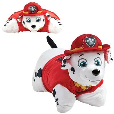 Marshall | 2 in 1 Plüsch Figur & Kissen | Paw Patrol | Dekokissen | Pillow Pet