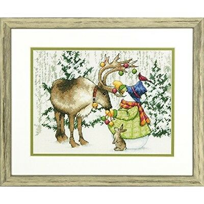 Dimensions Needlecrafts Dimensions Ornamental Reindeer Counted Cross Stitch -