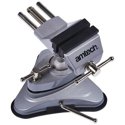 Suction Table Vice - Clamp 70mm Jaw Bench Craft Por Vise Hobby Electronics