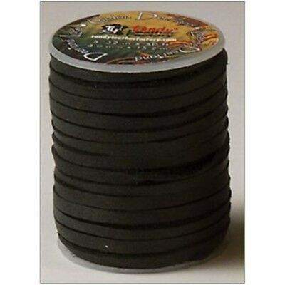 Deertan Lace 5/32 x 50 Ft. Black 5071-01 By Tandy Leather By Tandy Leather -