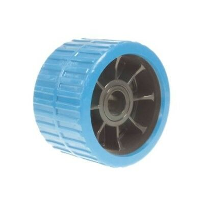 Ribbed Wobble Roller (non Mark) Blue 74x120x21 - x 74mm 120mm 21mm Bore Mp1712