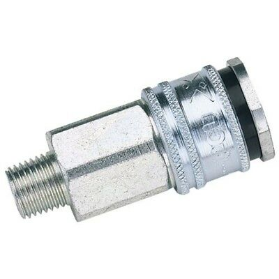 "Draper Ac71jm Bulk Euro Coupling Male Thread 1/2"" Bsp Parallel (sold Loose), -"