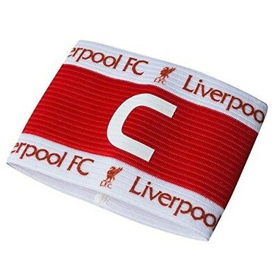 Liverpool Captains Armband - Red/white - One Size - Arm Band Fc Official