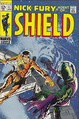Nick Fury Agent of SHIELD #11 HG 1969 Marvel Comics FREE USA SHIP