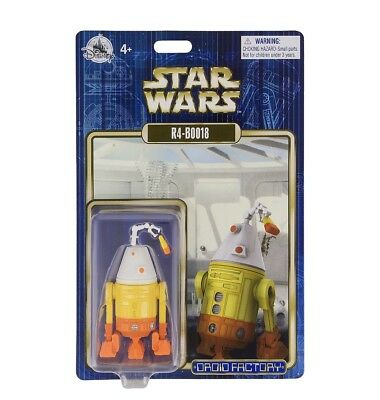 R4-B0018 Star Wars Droid Factory R4-BOO18 2018 Halloween Disney Theme Parks NEW