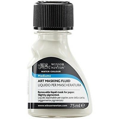 Winsor & Newton Art Masking Fluid, 75ml - Transparent - Fluid 75ml Watercolour