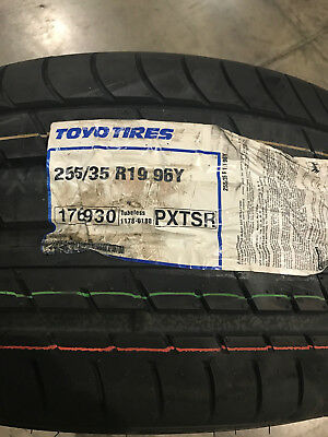 1 New 255 35 19 Toyo Proxes T1 Sport Tire