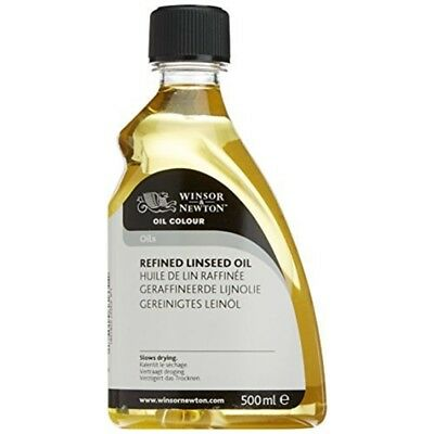 Winsor & Newton 500ml Refined Linseed Oil