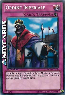 NM ☻ Ordine Imperiale ☻ Segreta ☻ LCYW IT178 ☻ YUGIOH ANDYCARDS