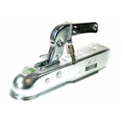 50mm Trailer Hitch With Integral Lock - Coupling Maypole Steel Pressed Tow 080l