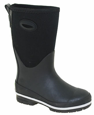 Western Chief Kids' Youth Neoprene Boot Black Style 2401573B
