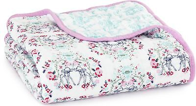 aden + anais DISNEY BABY DREAM BLANKET BAMBI 100% Cotton Muslin BN