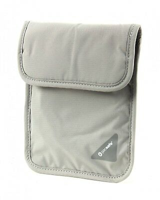 pacsafe Monedero Coversafe X75 RFID Blocking Neck Pouch Neutral Grey