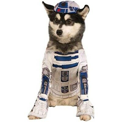 (small) - Rubie's Pet's Star Wars R2-d2 Dog Costume, Small, Neck To Tail 28cm ,