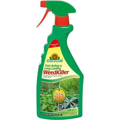 Neudorff Superfast & Long Lasting Weedkiller Rtu, 750ml
