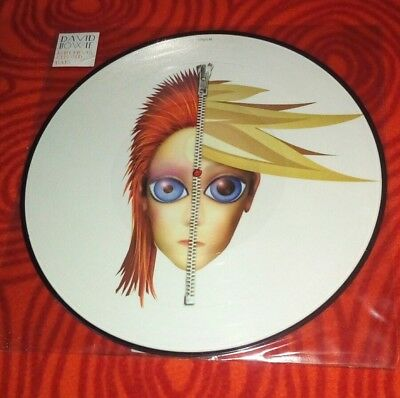 David Bowie Rebel never gets old Days Picture Disc Vinyl Maxi
