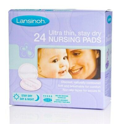 Lansinoh Disposable Nursing Pads 24-pack - 24 Ultra Thin x Stay Dry