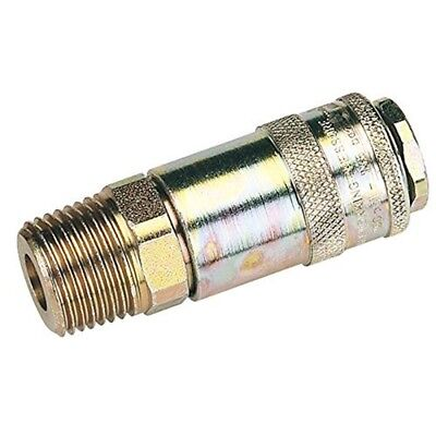 """Draper 37838 1/2"""" Male Thread Pcl Tapered Airflow Coupling - 12"""