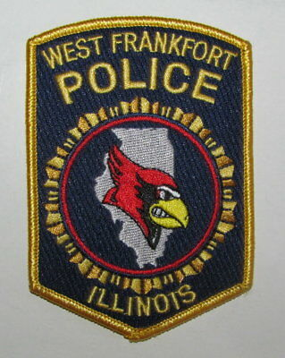 Illinois State Franklin Co West Frankfort City Police Regulation Uniform Patch