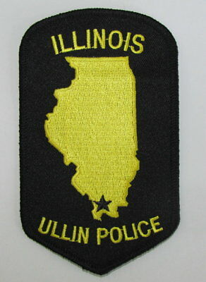 Illinois State Pulaski County Ullin City Police Regulation Uniform Patch