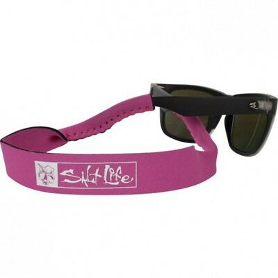 Salt Life All Day Hibiscus Sunglass Strap Pink