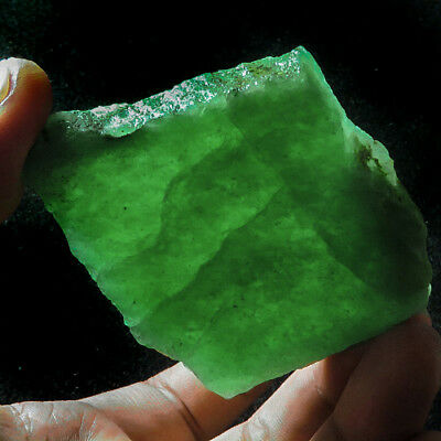 407.8CT 100% Natural Green Strawberry Rutilated Quartz Facet Rough Speci YIS500
