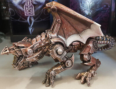 Mythical Creatures DRAGON NUTS & BOLTS Home Statue Ornament Figurine