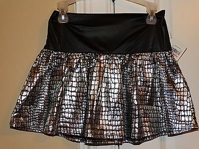 Black and silver skirt baby  girl's size 5 T, NEW!