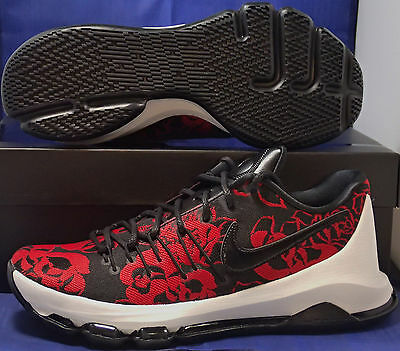 4d469db48dc7 NIKE KD 8 VIII EXT Floral Mother s Day Kevin Durant SZ 8 ( 806393 ...