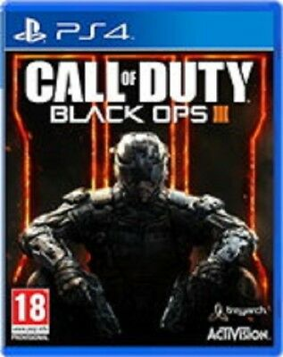 Call of Duty Black Ops III Sony PS4 Playstation 4 3 Three New Game